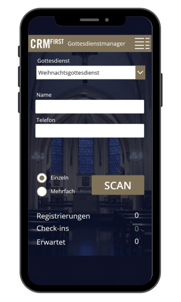 Einlasskontrolle App für Veranstaltungen